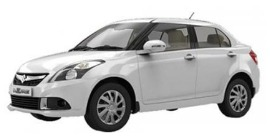 Book Swift Dzire Car rentals in Varanasi
