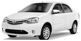 Hire Etios car in Varanasi