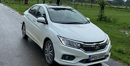 Hire Honda City in Varanasi