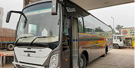Hire Luxury Bus in Varanasi
