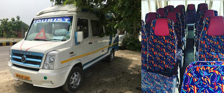 Book Tempo Traveller on rent in Varanasi