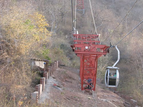Cable Car in Mainhar Devi